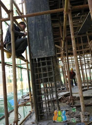 建筑木工,加固柱子规范