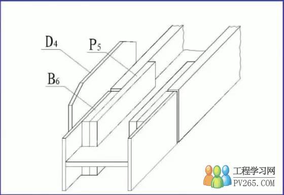 钢梁结构图 概述 钢梁常用于大