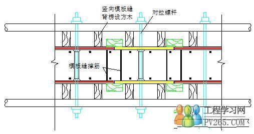 剪力墙模板接缝控制