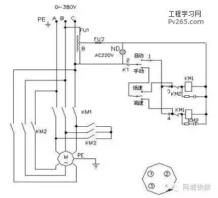老电工教你快速看懂电气控制电路图! -工程学习网
