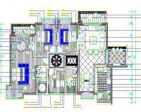 1-欧式古典风格家装设计完整施工图