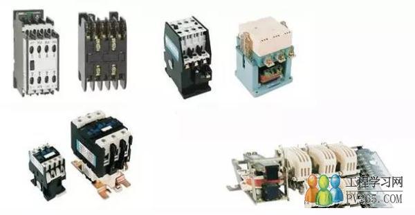 断路器、接触器、中间继电器、热继电器、按钮、指示灯、万能转换开关和行程开关是电气控制回路中最常见的八种元件,小编以图文并茂的方式介绍常用电气元件的原理及应用,通过了解它们在电气回路中的作用来掌握这些元件平时的运行情况。 1、断路器 低压断路器又称为自动空气开关,可手动开关,又能用来分配电能、不频繁启动异步电机,对电源线、电机等实行保护,当它们发生严重过载、短路或欠压等故障时能自动切断电路。
