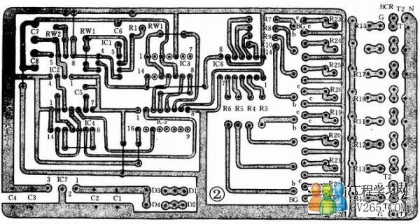 彩灯控制器电路组成原理