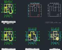 非常实用且豪华大气的三层单独别墅设计图纸