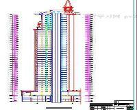 一整套高层住宅建筑施工图