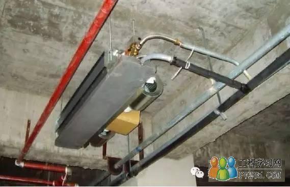 风机盘管安装现场实例