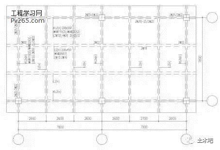 知识文章 建筑知识 地下车库设计常见柱网形式  注: 1.顶板考虑1.