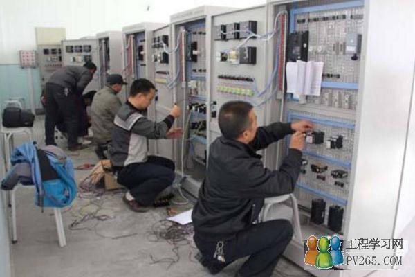 知识文章 电气自控 什么是电工  内线电工是指从事室内变配电装置