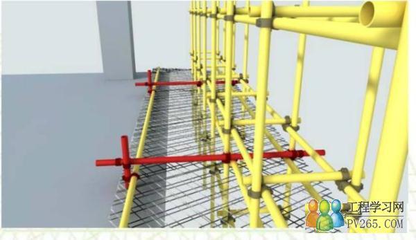 外脚手架连墙件规范_脚手架搭设规范要求图解(4) -工程学习网