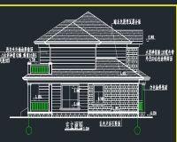 砖混结构别墅设计