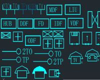cad电气符号图库 电气图纸符号大全