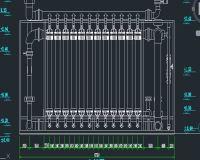 60立方超滤总装图 污水处理设备图