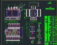 油浸式变压器总装图