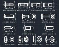 机械制图及标准图库 附图