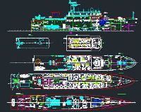 1000吨海盗船供暖系统图