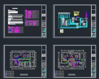 北京别墅智能家居系统平面布置图