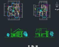 14套别墅设计图