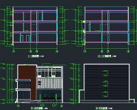 实验楼项目建筑/暖通/给排水/电气图纸