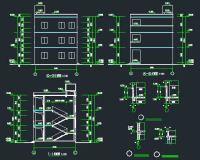 教学楼公寓建筑结构施工图